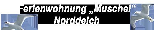 Ferienwohnung Muschel Norddeich