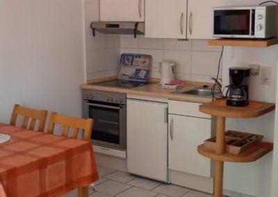 Essecke, Küchenzeile